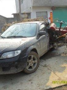 Tractor vs Car