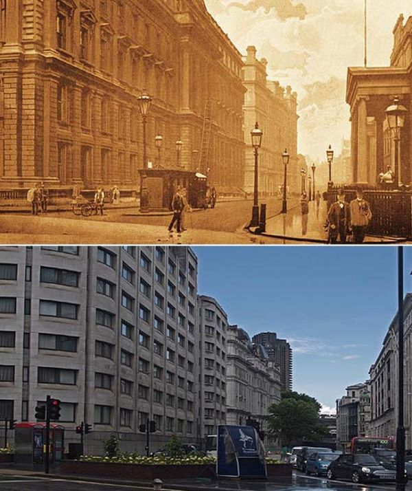 London from 1897 to Present Day