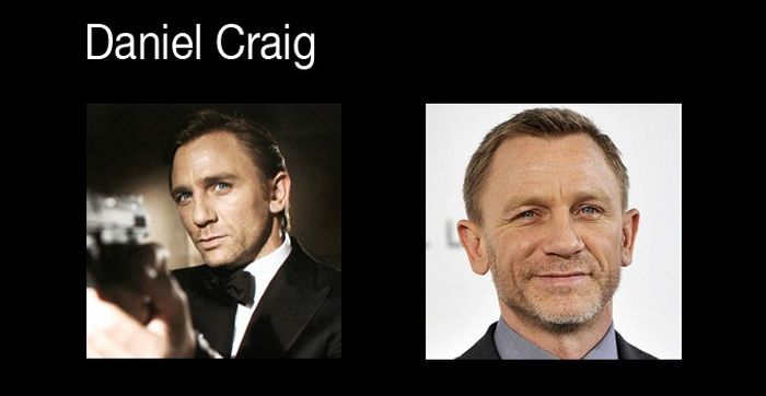 Every James Bond Then and Now