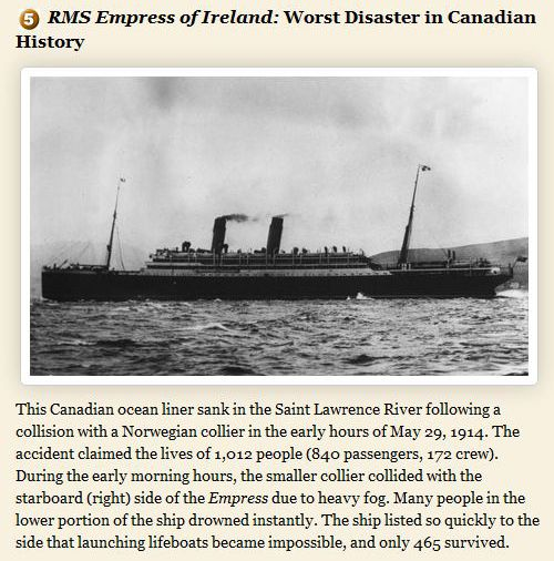 Worst Ship Disasters Ever