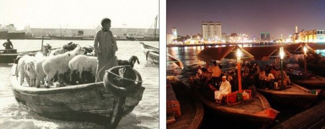 Dubai - then and now