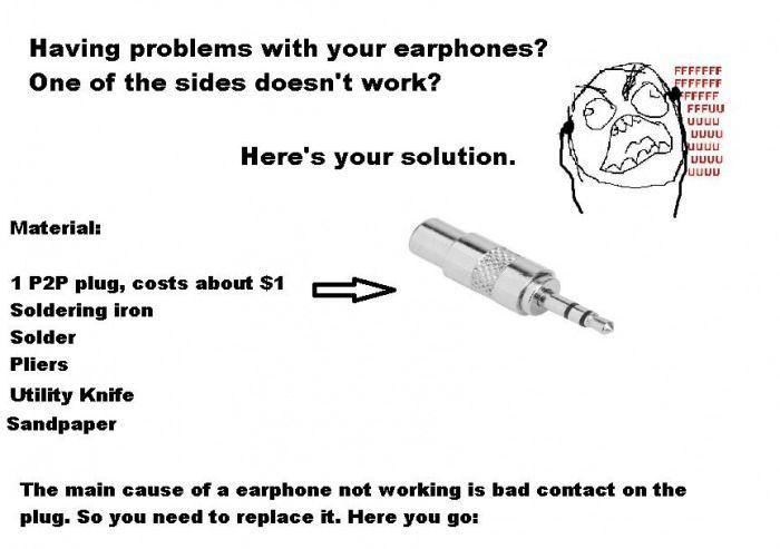 How to Fix Earphones Tutorial