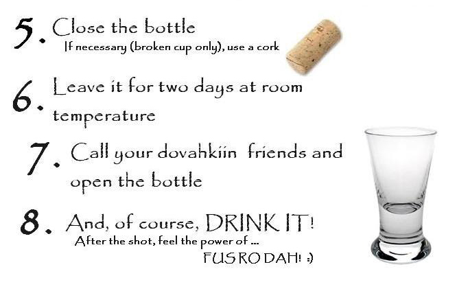 DIY Dragonborn Vodka