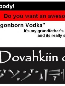 DIY Dragonborn Vodka