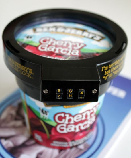 Pint Ice Cream Lock