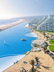 San Alfonso del Mar Resort - the largest swimming pool in the World