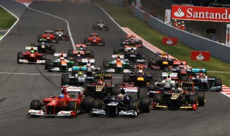 Behind the scenes of the Grand Prix of Spain 2012