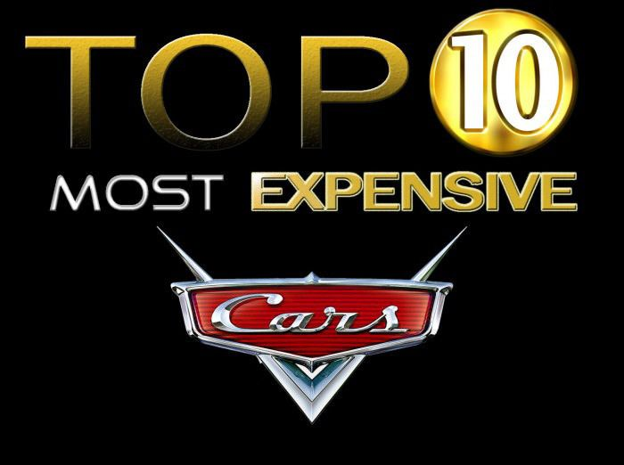 Top 10 Expensive Cars Vehicles