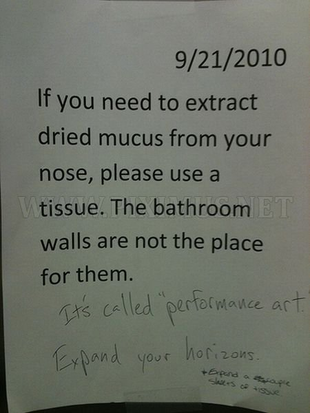 Hilarious Passive-Aggressive Office Notes