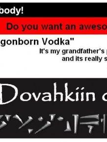 The Wicked Dragonborn Vodka Recipe