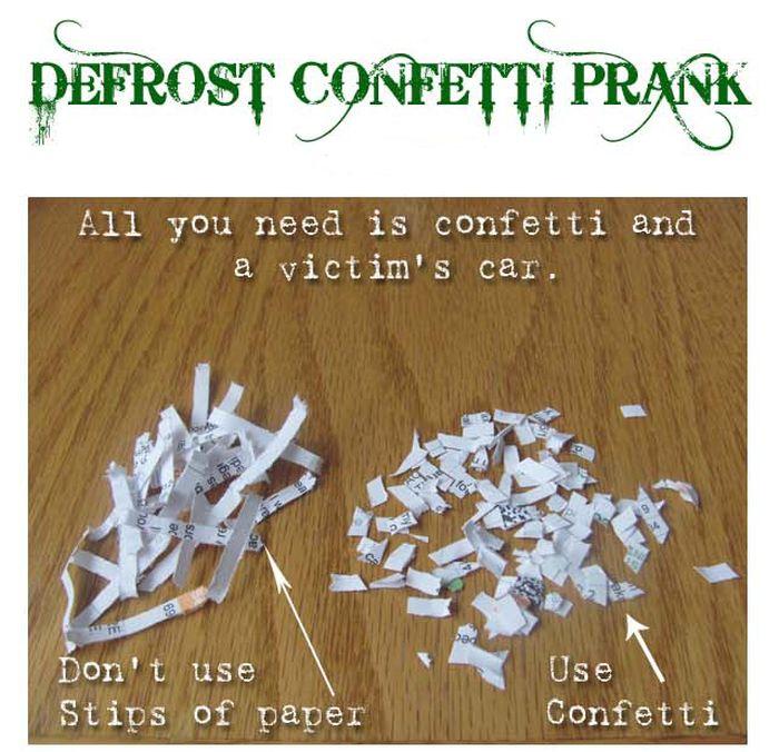 The Confetti Prank