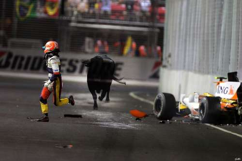 Funny side of F1