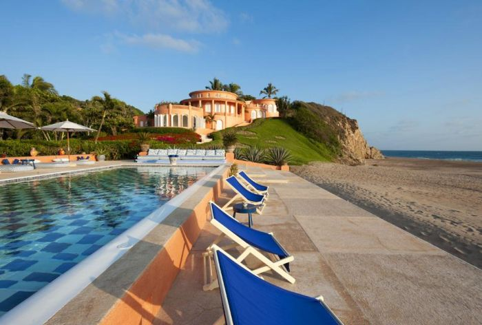 Beautiful Cuixmala Luxury Resort in Mexico