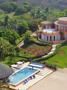 Beautiful Cuixmala Luxury Resort in Mexico