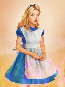 Disney Female Characters in the Real Life