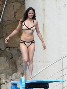 Michelle Rodriguez In a Bathing Suit