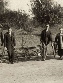 German Folding Car from 1929