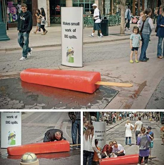 Great Examples Guerilla Marketing