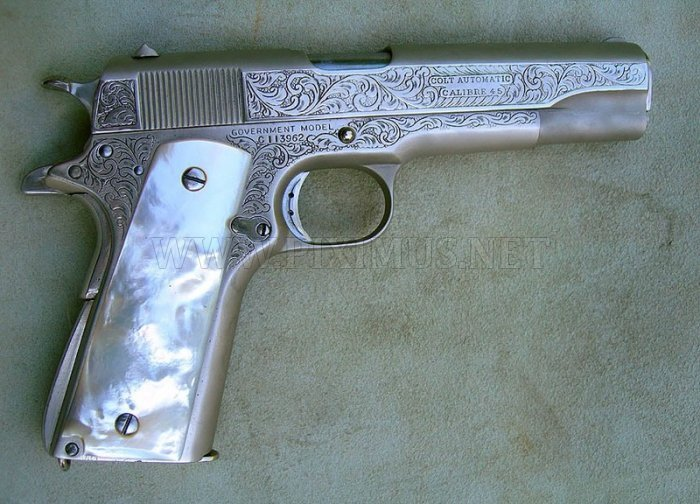 Russian classic guns and pistols