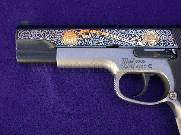 Russian classic guns and pistols