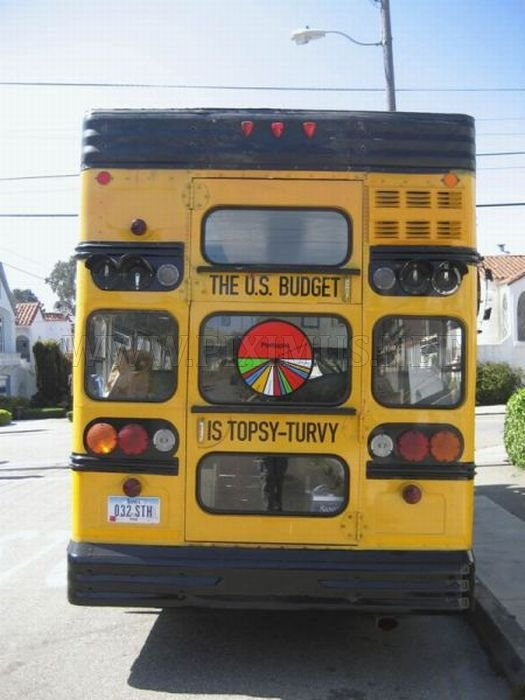 Double Decker School Bus Vehicles