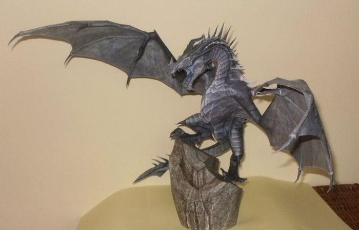 Awesome Papercraft Sculptures
