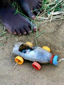 Toys of Poor African Kids