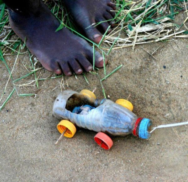 Toys of Poor African Kids