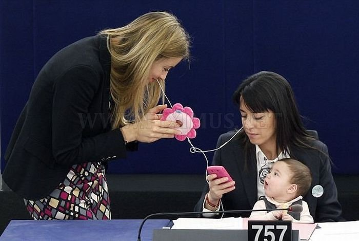 Little Girl in the Parliament