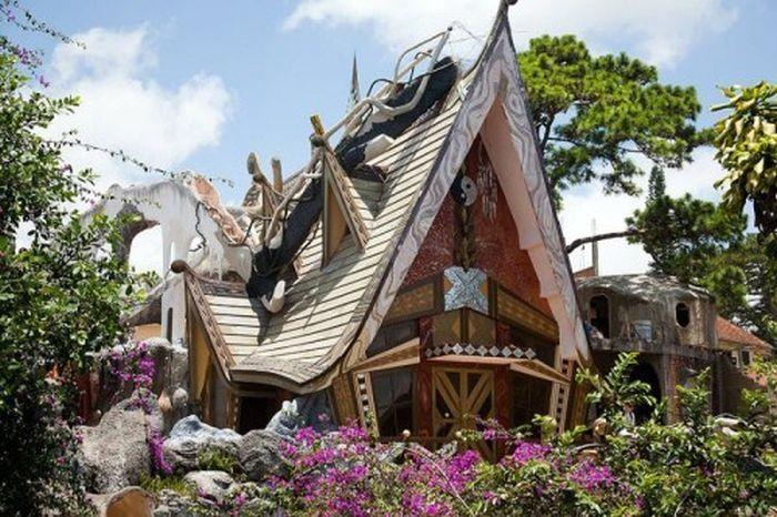 Dalat Crazy House in Vietnam