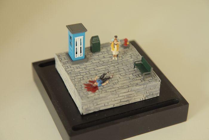 Violent Miniature Dioramas