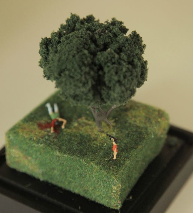 Violent Miniature Dioramas