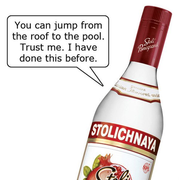 Alcohol Can Give You Some Very Bad Advices