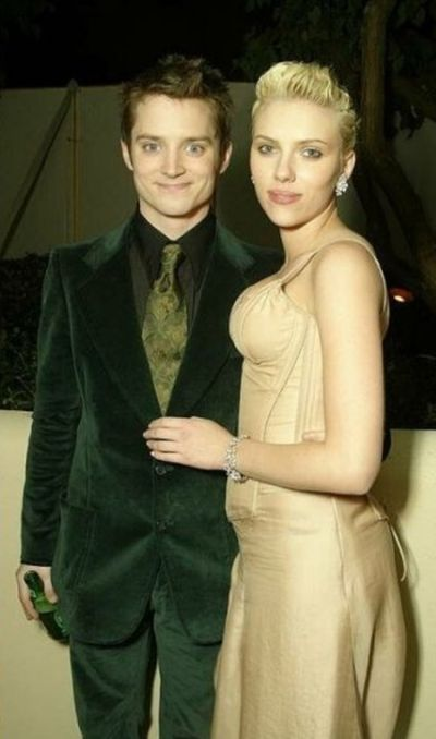 Elijah Wood and Scarlett Johansson Then and Now