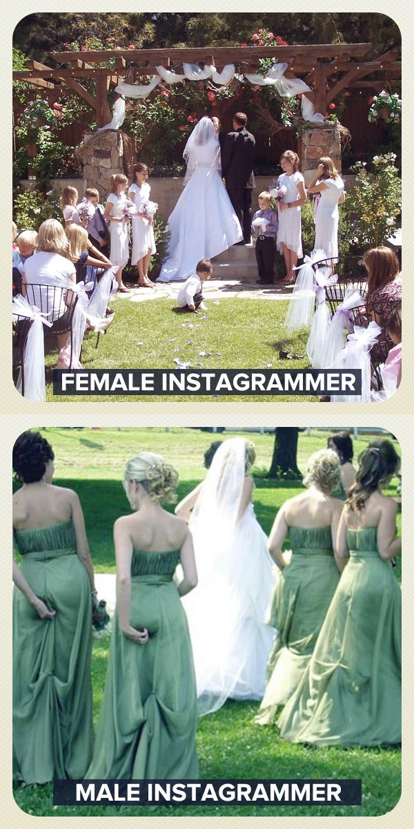 Female Instagrammer vs Male Instagrammer