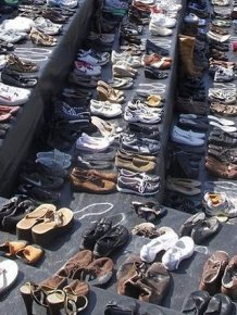 A Very Sad Collection of Shoes
