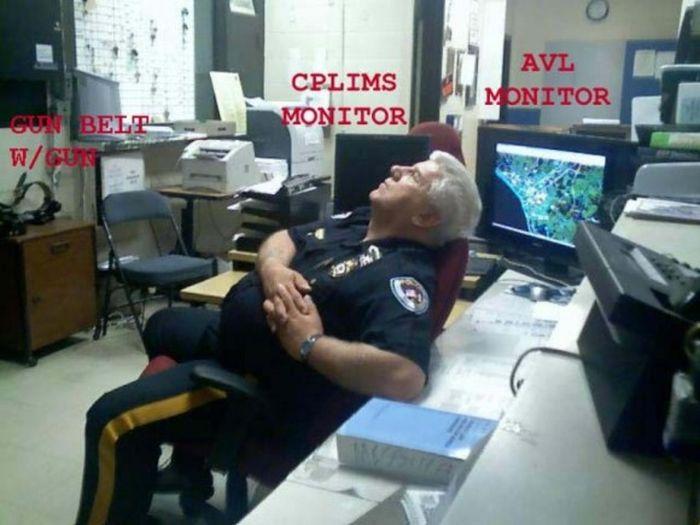 Security Guards Caught Sleeping On The Job Fun