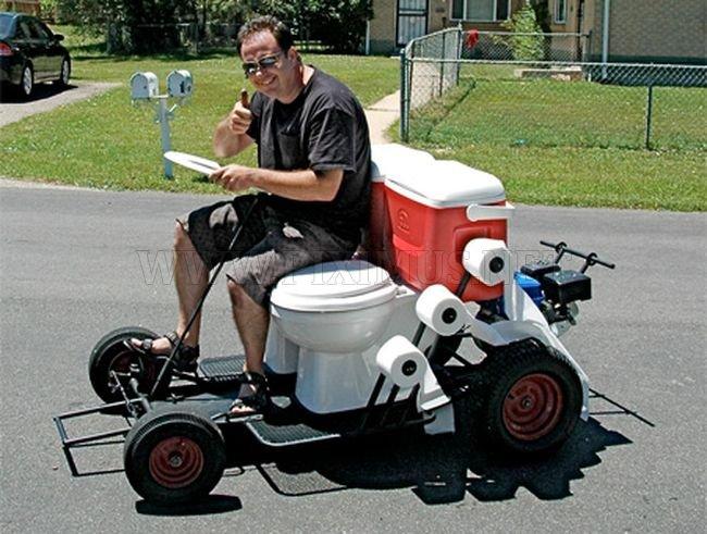 Strange Auto Kart Vehicles
