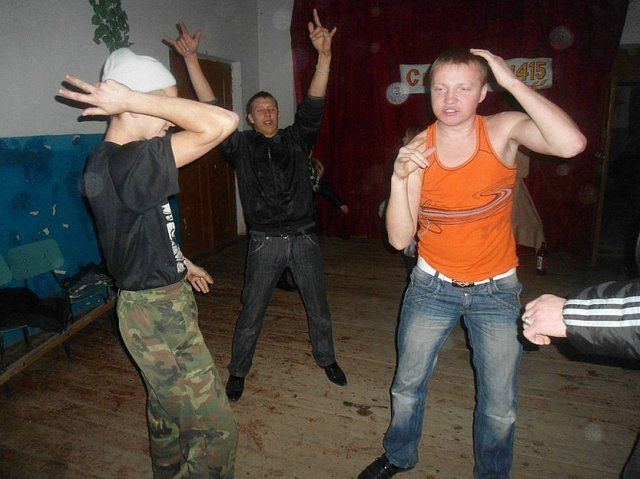 Parties in Backwoods Russian Clubs