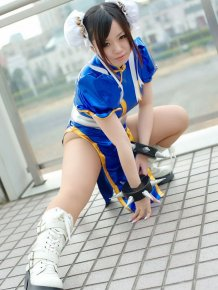 Street Fighter Cosplay Girls