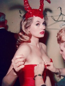 Anita Ekberg Then and Now