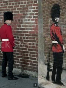 Recreating Banksy's Art in the Real Life