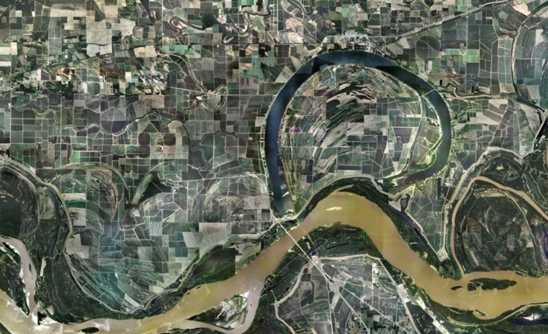 Interesting photos from Google Earth