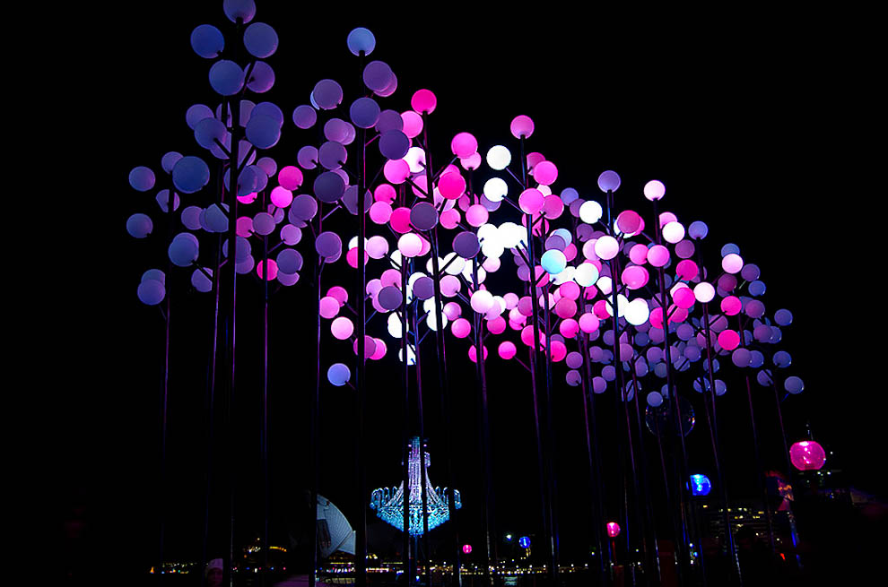 Festival of Light in Sydney