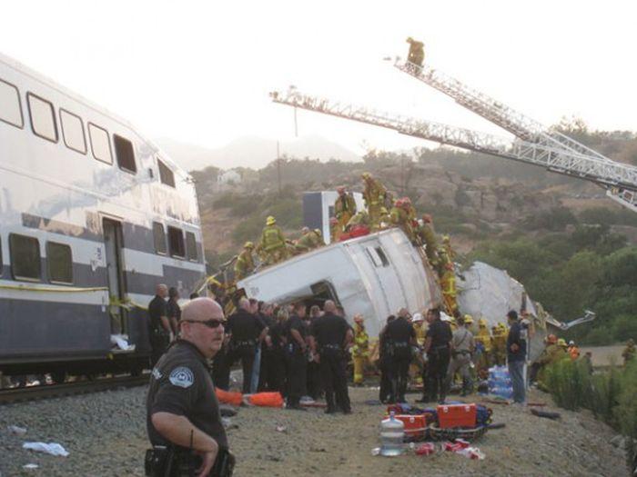 Train wrecks and crashes