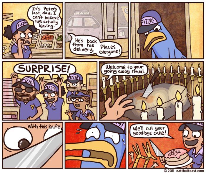 Eat That Toast Comics
