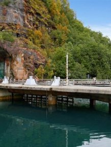 Secret Submarine Base for Sale