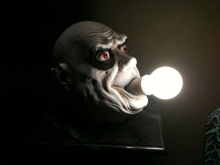 Scary Table Lamp Others