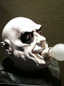 Scary Table Lamp