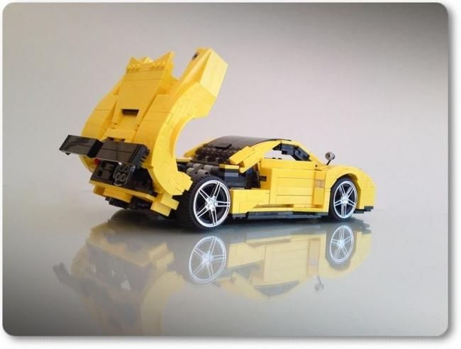 Famous Cars from LEGO parts